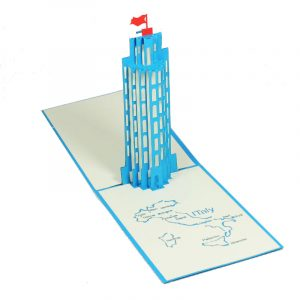 BD018-Tower-of-Pisa-building-pop-up-card-Charm Pop (1)