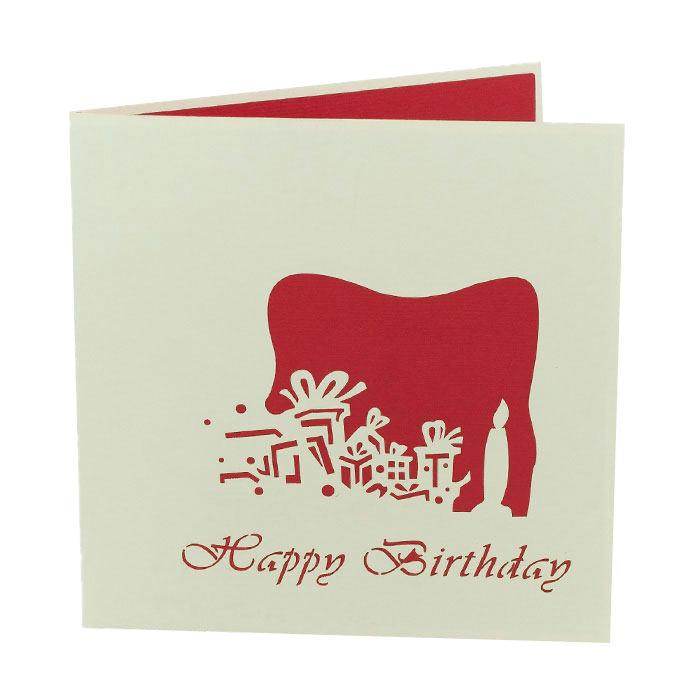 greeting card 3D birthday card gift pop up card VN Happy birthday card