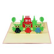 BG032-Birthday-Owls-new-custom-pop-up-card-3d-gift-pop-up-cards-handmade-card-brithday-1