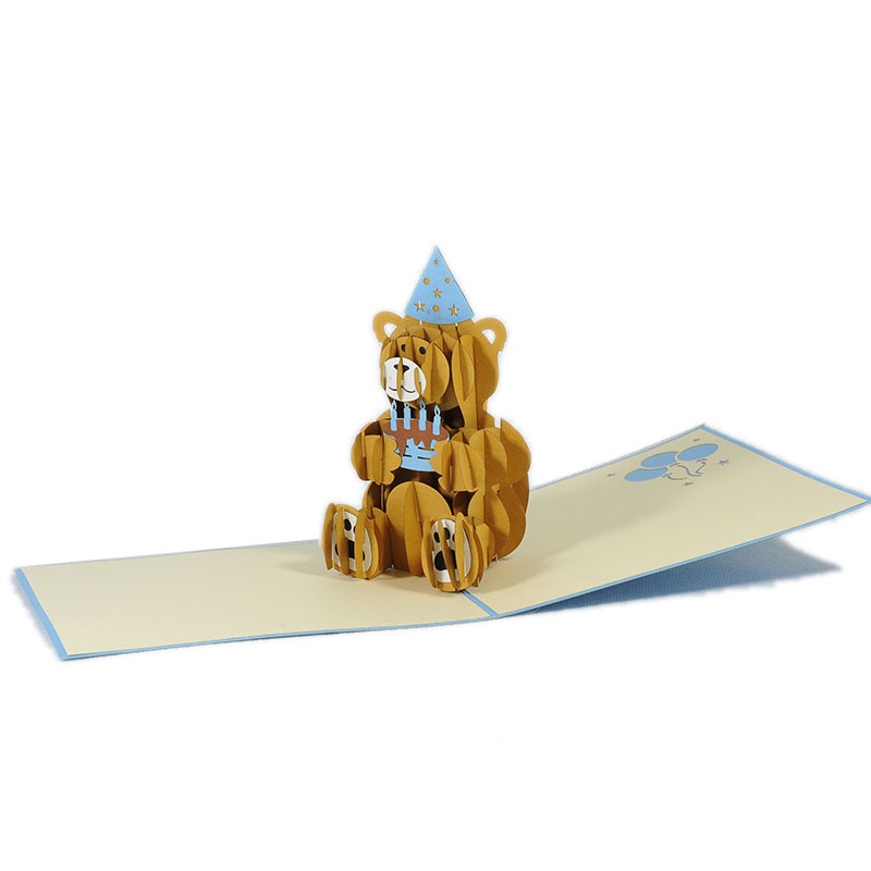 BG053-Happy-Birthday-Bear-Gift-Pop-up-Card-3d-pop-up-card-manufacture-vietnam-Charm Pop (1)