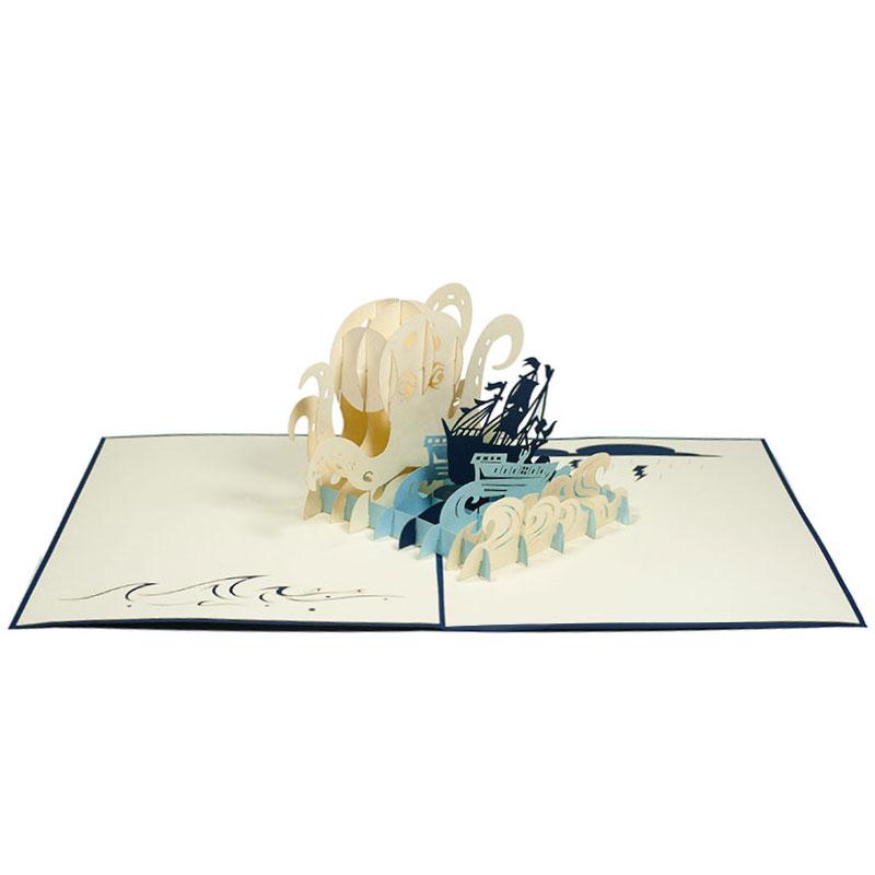 BG055-The-kraken-3D-Popup-cards-3d-pop-up-card-manufacture-vietnam-Charm Pop (3)