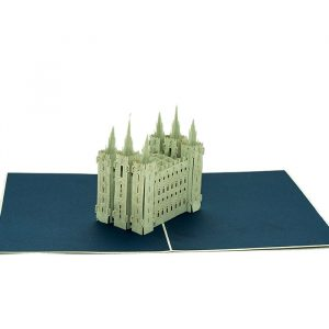 Customized-Salt-lake-city-temple-building-pop-up-card-3D-pop-up-card