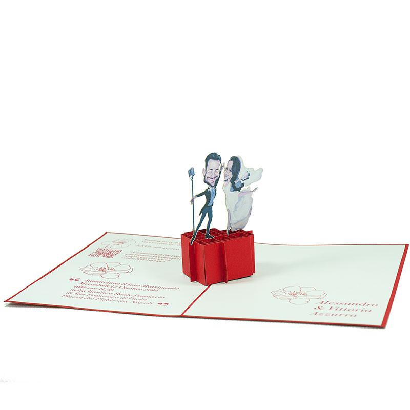 Customized-Wedding-congratulation-pop-up-card-wedding-card-Charm Pop (3)