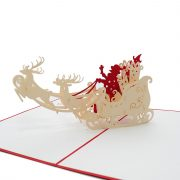 mc055-santas-sleigh-charmpopcard-christmas cards