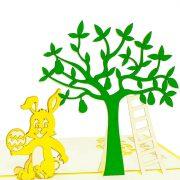 ES003-Rabbit-under-the-tree-pop-up-card-3