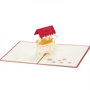 FL007-Floral-Cart-3d-pop-up-card-manufacture-vietnam-Charm Pop (1)