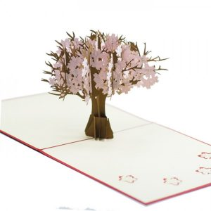 FL014-Peach-Floral-3d-pop-up-card-manufacture-vietnam-Charm Pop (2)