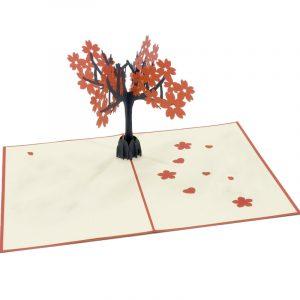 FL020-Peach-Floral-2-3d-pop-up-card-manufacturer-in-vietnam-flower-pop-up-card-custom-design-pop-up-greeting-card-flower 3D cards-CharmPop-wholsale-edit (2)