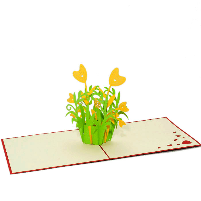 FL021-Heart-Floral-3d-pop-up-card-manufacturer-in-vietnam-flower-pop-up-card-custom-design-pop-up-greeting-card-flower 3D cards-CharmPop-wholsale-edit (2)
