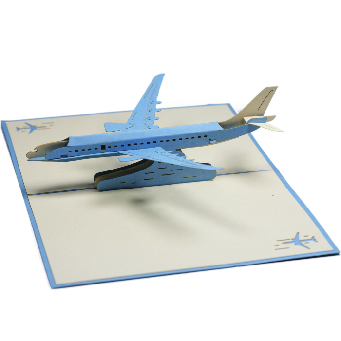 Fresh Aircraft pop up card-custom 3D Card Supplier-Charm Pop-Netherland RZ09