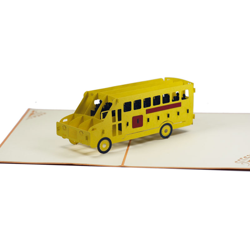 FS023-Double-Deck-Bus-1-Car-Pop-up-card-Charm Pop (2)
