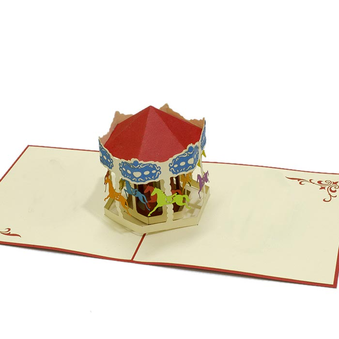 FS027-Carousel-Horse-sport-pop-up-greeting-cards-friendship-cards-brithday-pop-up-cards-wholsale-pop-up-cards-edit (2)