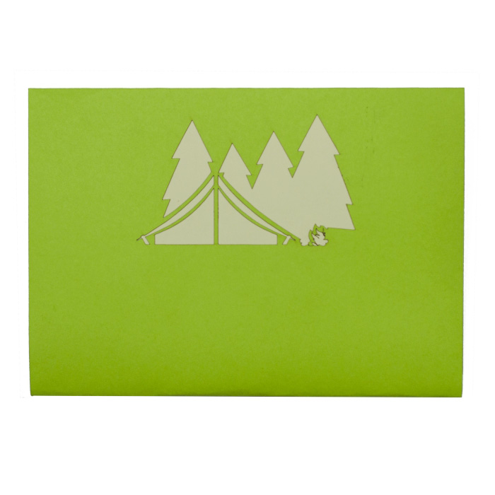 Camping Christmas Cards.Camping Trip Pop Up Card Birthday Pop Up Card Custom