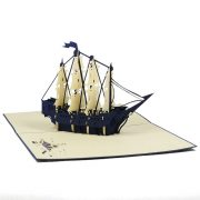 FS041-Boat-6-friendship-3d-card-friendship-hanmade-card-nice-pop-up-card-Charm Pop (1)