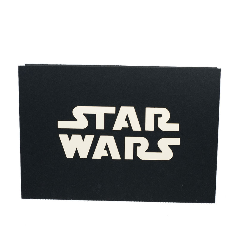 Fs046 Star War 2 3d Popup Cards Friendship Popup Card Birthday Card