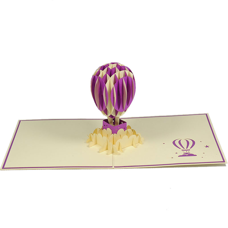 FS056-Air-balloon-3-layers-friendship-3D-card-Birthday card-custom-design-Charm Pop (2)