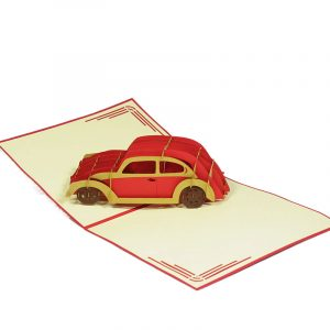 FS061-New-Car-2-friendship-pop-up-card-gift-card-3D custom card manufacture-Charm Pop (1)