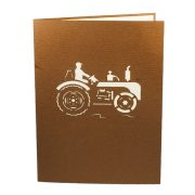 FS064-Tractor-pop-up-card-birthday-gift-card-3D custom card manufacture-Charm Pop (4)