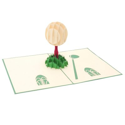 Golf Set pop up card-pop up card manufacturer- pop up card wholesaler- kirigami card vietnam-CharmPop (3)