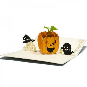 HW002-Pumbkin-1-pop-up-cards-wholsale-greeting-cards-Charm Pop (1)