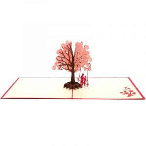 LV028R-Couple-under-the-peach-tree-3d-pop-up-card-manufacturer-in-vietnam-3D-love-card-custom-design-pop-up-greeting-card-CharmPop-wholsale (1)