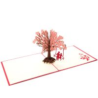 LV028R-Couple-under-the-peach-tree-3d-pop-up-card-manufacturer-in-vietnam-3D-love-card-custom-design-pop-up-greeting-card-CharmPop-wholsale (2)