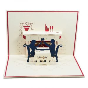 LV032-Dinner-couple-Design-Pop-up-card-Love card-Custom-design-3D-card-Charm Pop (4)