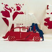 LV033-Car Date Couple -love-pop-up-card-vietnam-love-pop-up-greeting-card-valentine-Pop-up-card-Custom-Design-Charm Pop (3)