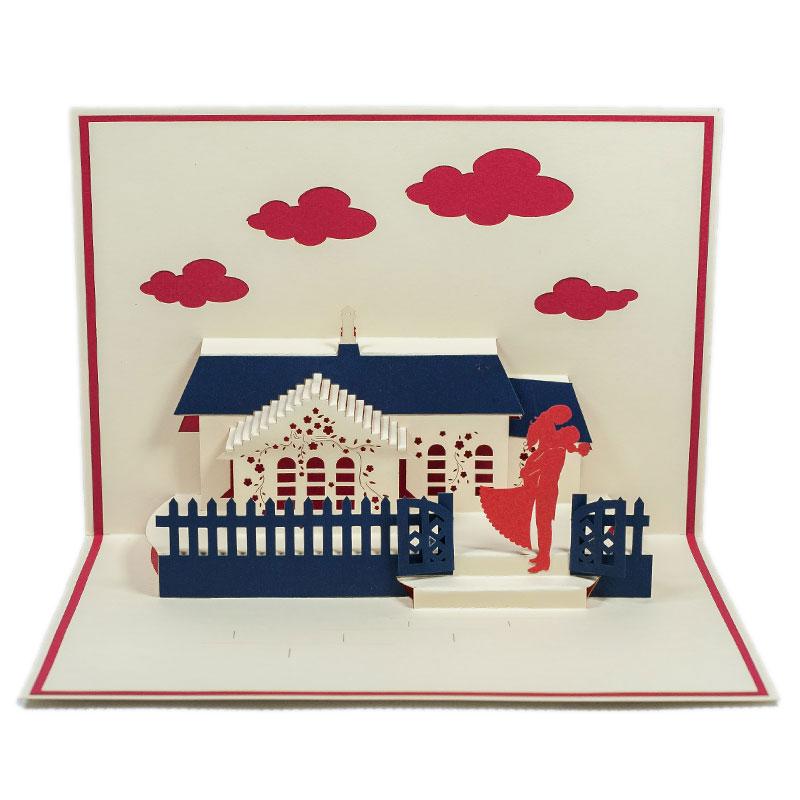 LV037-Wedding-Day-12-Pop-up-cards-Love-pop-up-card-valentine-Pop-up-card-Custom-Design-Charm Pop (1)