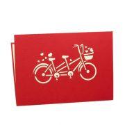 LV044-Twin-love-bike-Love-pop-up-card-valentine-Pop-up-card-Charm-Pop-edit (3)