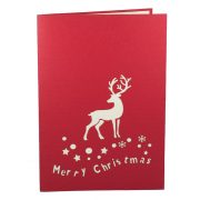 MC006-Christmas-deer-xmas-card-holiday-pop-up-card-3D-Pop-up-Card-Custom-Design-Charm Pop (1)