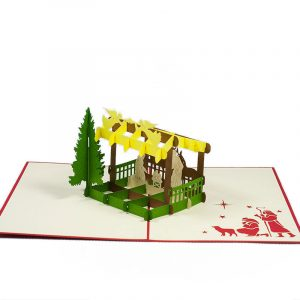 MC068-Nativity-scene-2-Pop-up-Card-Christmas-card-holiday-pop-up-card-3D-Pop-up-Card-Custom-Design-Charm Pop (2)