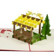 MC068-Nativity-scene-2-Pop-up-Card-Christmas-card-holiday-pop-up-card-3D-Pop-up-Card-Custom-Design-Charm Pop (4)