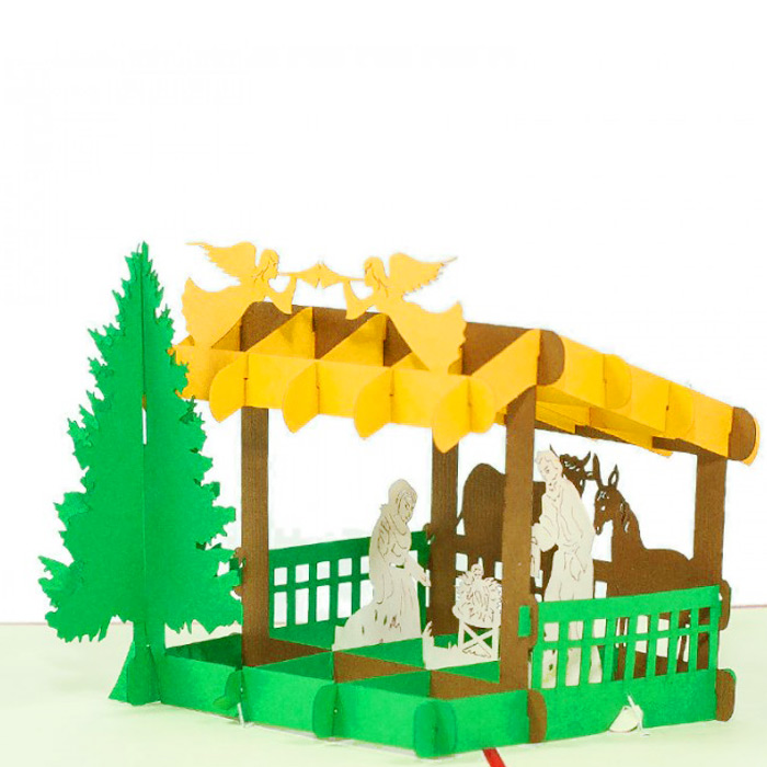 MC068-Nativity-scene-2-Pop-up-Card-Christmas-card-holiday-pop-up ...