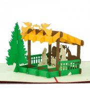 MC068-Nativity-scene-2-Pop-up-Card-Christmas-card-holiday-pop-up-card-3D-Pop-up-Card-Custom-Design-Charm Pop (7)