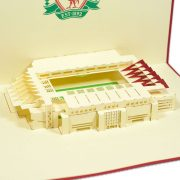 ST004-Liverpool-Stadium-3D-Pop-up-Card-football card-Custom-Design-sport 3D card-Charm Pop