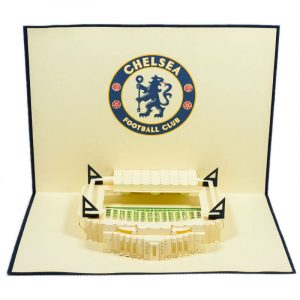 ST006-Chelsea-Stadium-building-pop-up-card-footbal-Custom-Design-sport 3D card-Charm Pop (1)