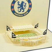 ST006-Chelsea-Stadium-building-pop-up-card-footbal-Custom-Design-sport 3D card-Charm Pop (2)