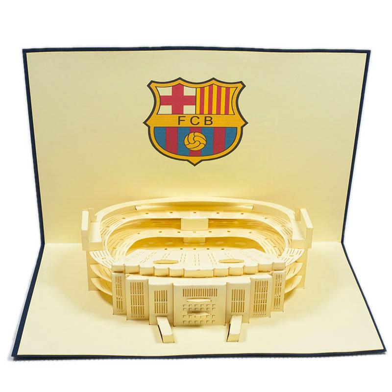 ST008-Barcelona-Stadium-3D-pop-up-card-Custom-Design-sport 3D card-Charm Pop (1)