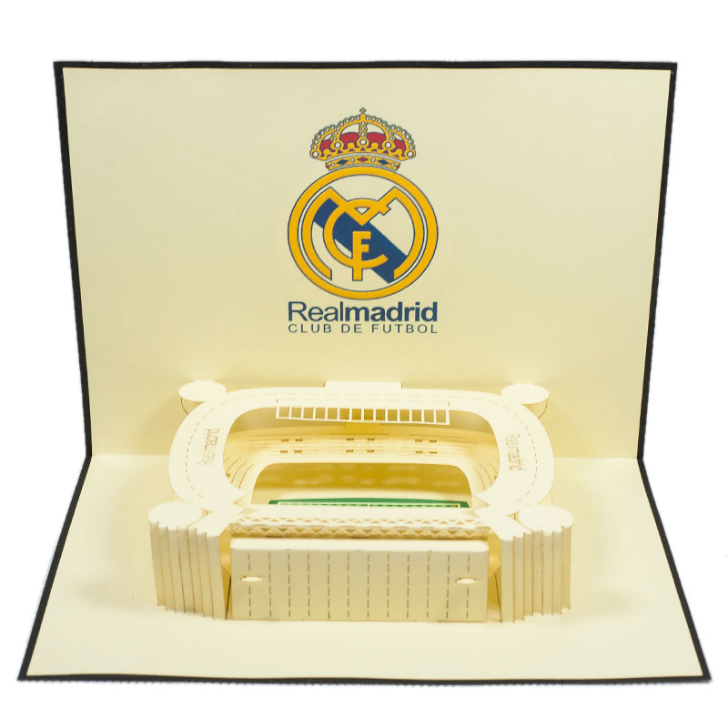 ST009-Real-Madrid-Stadium-Pop-up-greeting-Card-Custom-Design-sport 3D card- Charm Pop (1)
