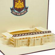 ST010-Westham-United-Stadium-Pop-up-greeting-Card-Custom-Design-sport 3D card- Charm Pop (3)