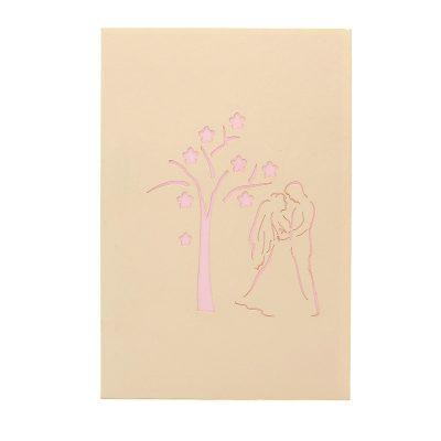 Spring-wedding-pop-up-card–pop-up-card-manufacturer-pop-up-card-wholesaler–pop-up-card-vietnam