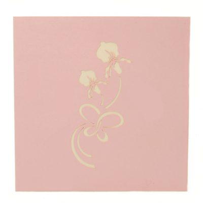 Summer flower pop up card-pop up card manufacturer- pop up card wholesaler- kirigami card vietnam-CharmPop (2)