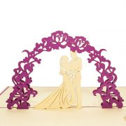 WD025-Wedding-Day-pop-up-card-3D wedding card-Charm Pop-Korea (3)