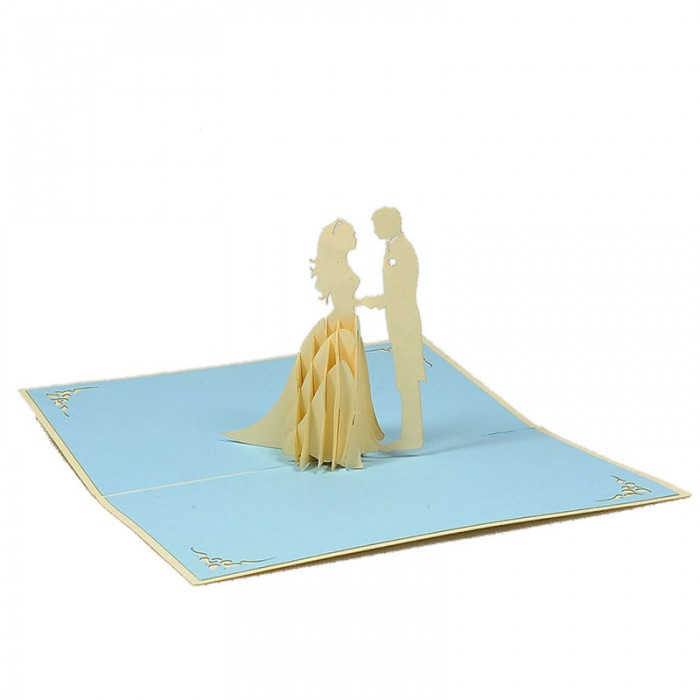 WD027 Wedding Day 11-pop up card-3D wedding card-Charm Pop-Vietnam (2)