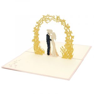 Wedding Day pop up card-pop up card manufacturer- pop up card wholesaler- kirigami card vietnam-CharmPop (4)