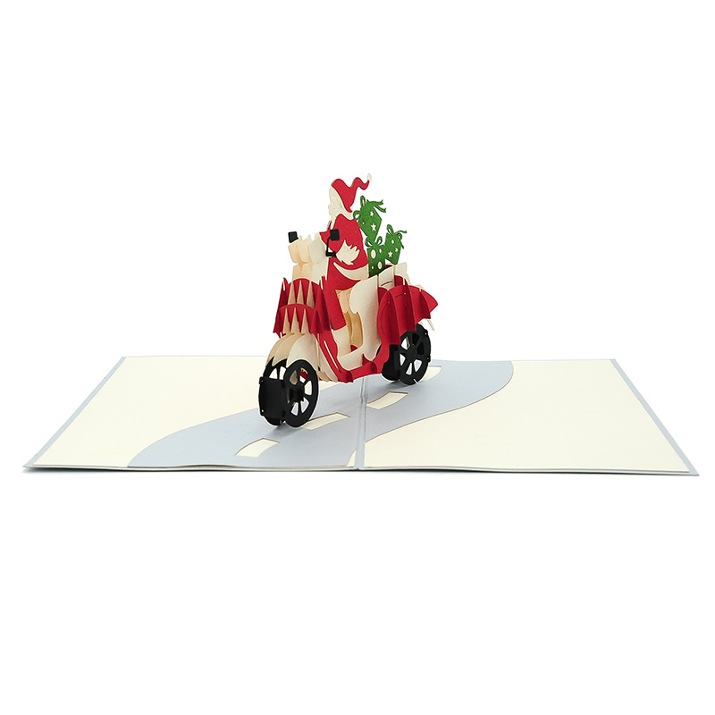 Xmas-Vespa-Santa-3D-Pop-up-Mery-Christmas-Pop-up-CardNoel-Pop-up-Card-3d-card-manufacturer-in-vietnam-custom-design-pop-up-greeting-card-CharmPop-wholsale (5)
