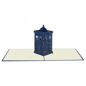 police box pop up card wholesale- pop up card company (2)