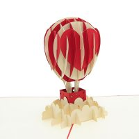 Air balloon love pop up card-3d greeting card supplier-origami card manufacturer-lpop up card wholesale (2)