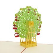 BD007-Ferris Wheel 3D Card-vietnam custom pop up card manufacturer (5)